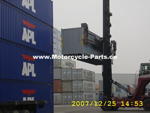 Your OEM Motorcycle Parts is shipping in Ningbo Port!
