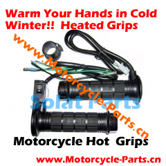 Warm Your Hands in Cold Winters! Heated Grips,China Motorcycle Hot Grips,Heated Grip Supplier - Solat Motorcycle Parts Co,. Ltd