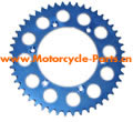 Motorcycle Aluminum Sprockets Manufactured from 7075 T6 aluminum alloy